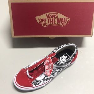 NWT Men's Low-Top Vans